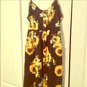 Sunflower midi